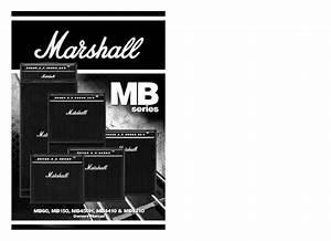 Bass Amplifier Mb4410 Manuals