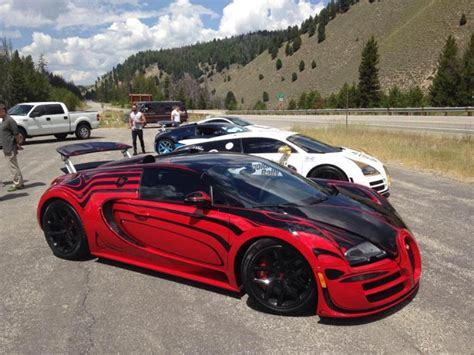 Bugattis Top Speed by Bugatti Veyron Hits 235 7 Mph At Sun Valley Road Rally 2015