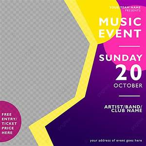 Music, Event, Poster, Design, Template, For, Free, Download, On