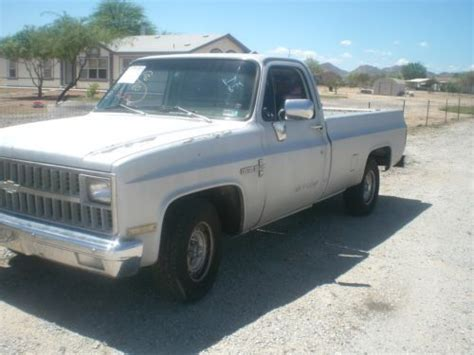 Purchase Used 1982 Chevy C10 Chevy 350 V8 Rust Free In San