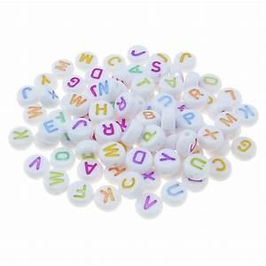 Kissenbezüge Mit Schrift : 300 mix buchstaben perlen wei 4x7mm alphabet abc bunt ~ Lizthompson.info Haus und Dekorationen