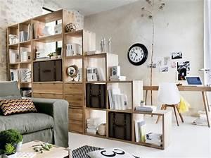 Séparateur De Pièce Ikea : 5 biblioth ques ultra pratiques elle d coration ~ Dailycaller-alerts.com Idées de Décoration