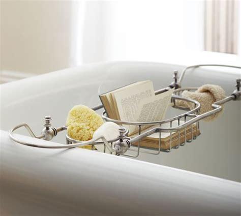 bathroom designs with clawfoot tubs bailey bathtub caddy pottery barn