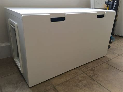 Cabinet Deodorizer by Easy To Clean Stuva Bench Litter Box Ikea Hackers Ikea
