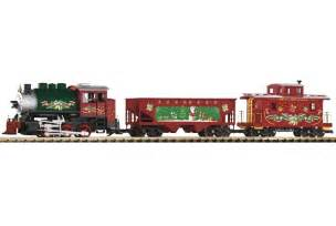 christmas train set piko g scale 37105 starter at topslots n trains