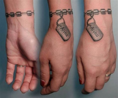 tatouage bracelet idees tendance pour le poignet  pour