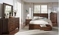 solid wood bedroom furniture sets 4 Piece Meadow Solid Wood Storage Bedroom Set - USA ...