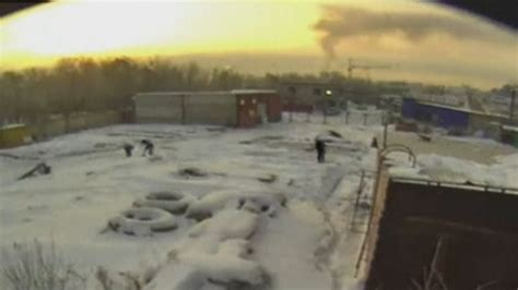 Russian meteor: Meteor explodes in flash of brilliant ...