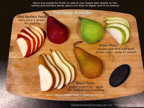 Pears For Baby Food Making Homemade Pear Baby Food The