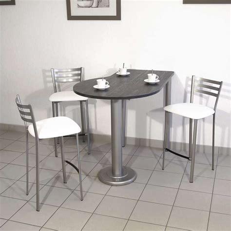 cuisine montpellier table de cuisine luros en stratifié snack ht 90 cm 4 pieds tables chaises et tabourets