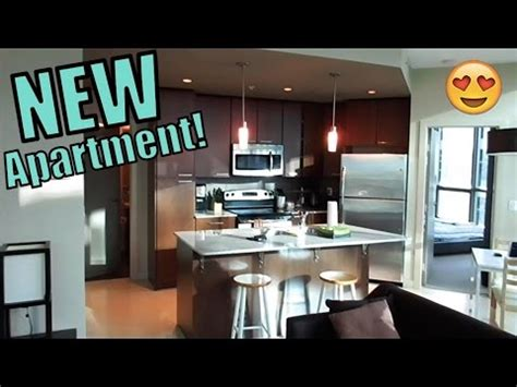 My New Apartment Tour!  Youtube