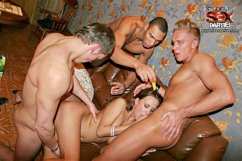 Drunk Group Orgy Featuring Anal Fuck