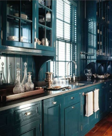 Best 25  Teal kitchen cabinets ideas on Pinterest   Teal