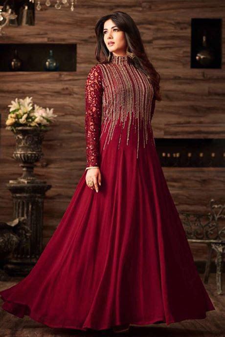 designer party wear heavy work embroidered salwar kameez
