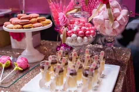 kara s ideas glamorous pink gold 40th birthday via kara s ideas