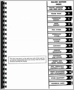 International Harvester 2444 Industrial Tractor Parts Manual