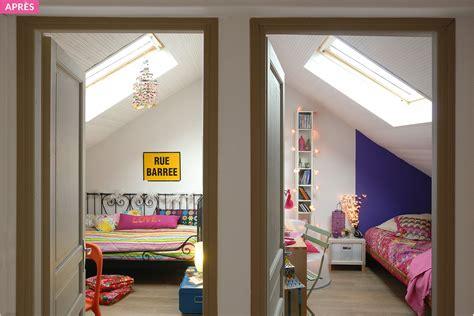 chambre en diviser une chambre en deux maison design bahbe com