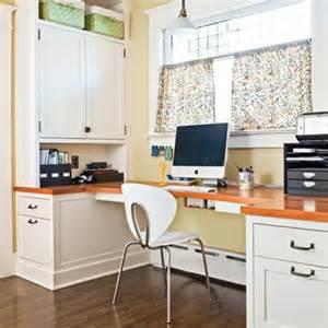 Modern Kitchen Built in Desk