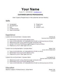 germany  resume format resume cv template