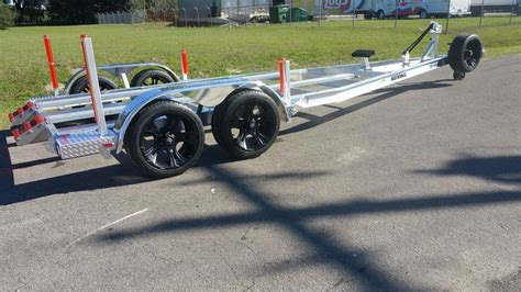 Factory Direct Aluminum Boat Trailers by All Aluminum Boat Trailer Tandem Axle Boatnation