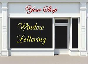 custom vinyl window decals for business by With vinyl lettering for business windows
