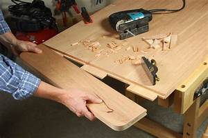 Breadboard ends Attaching Wood movement Woodworker's