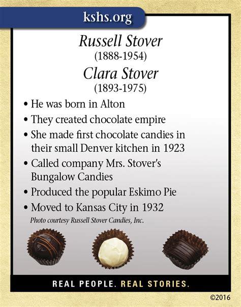 Russell and Clara Stover - Kansas Historical Society