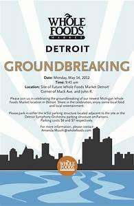 groundbreaking invite parking schussing ground breaking With groundbreaking ceremony invitation templates
