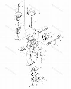 Polaris Atv 1999 Oem Parts Diagram For Carburetor