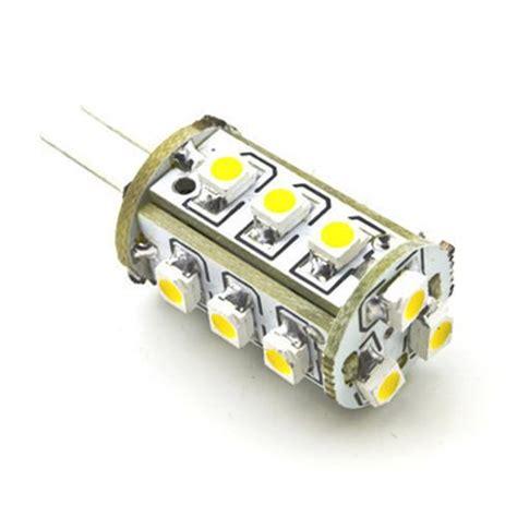 ac dc 12v 24v 1 8w 15x 3528 bi pin led light bulb g4