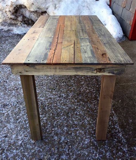 pallet kitchen table recycled wood pallet kitchen table pallet furniture plans