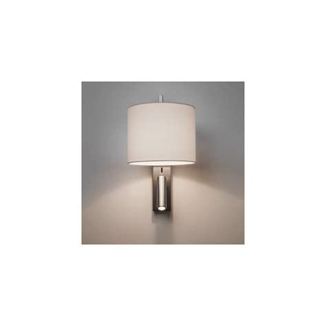 astro lighting ravello 2 light wall fitting in matt nickel