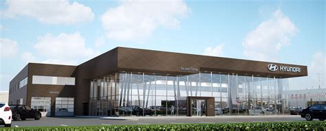 Hyundai Car Dealer by Hyundai Rolling Out New Look For Dealerships Autos Ca