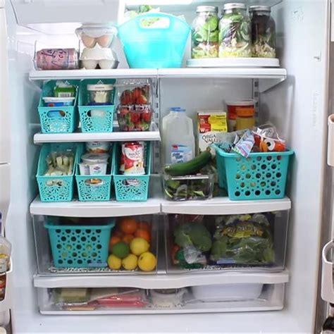 25+ Bästa Idéerna Om Refrigerator Organization På