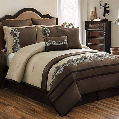 buy leila 8 piece comforter set from bed bath beyond