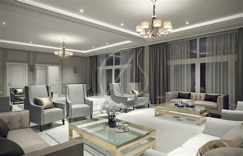 Hard to believe he didn't get a better deal for a long term stay… Modern Classic Villa Interior Design by Comelite ...