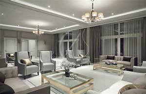 Modern Classic Villa Interior Design By Comelite Architecture  Structure And Interior Design