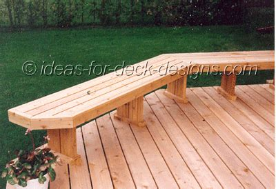 deck bench plans build deck benches that look great see all the ways you