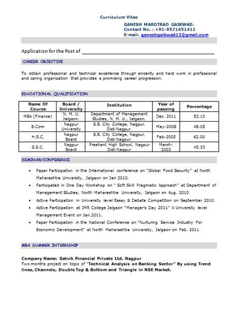 Writing a resume summary