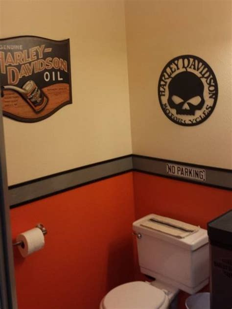 Harley Davidson Bathroom Themes by Harley Davidson Bathroom House Decor