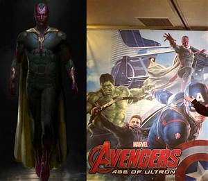 Have a Look: Paul Bettany Is Quite the Vision in 'Avengers ...