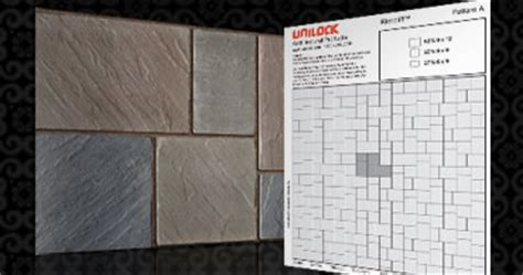 unilock laying patterns laying patterns unilock