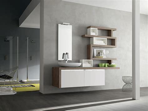 mensole in bagno mobili bagno bianco e legno mobili bagno arredamento