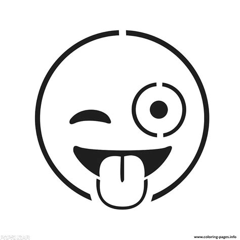 emoji faces coloring pages printable