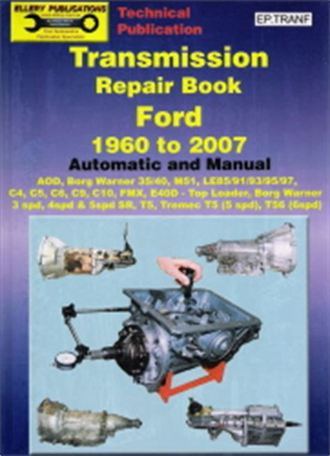 ford transmission   table