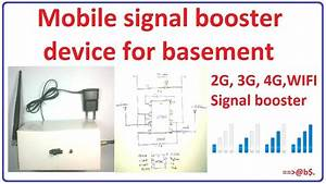 How To Make Mobile Signal Booster For Basement