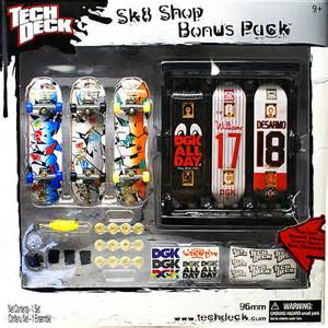 tech deck skate shop bonus pack walmart com