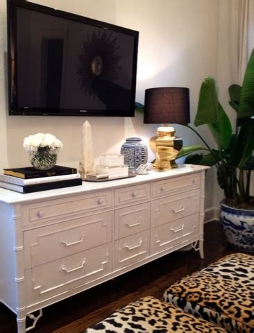 how to decorate a dresser bamboo dresser transitional bedroom luxe report