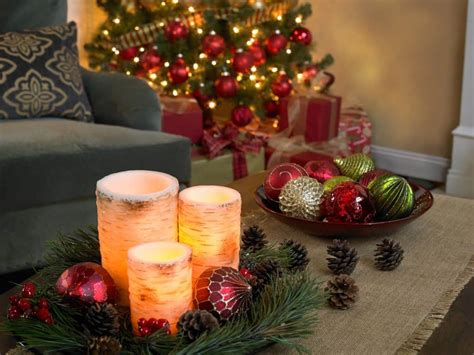 popular flameless candles   house decor