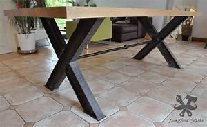 Table A Manger Industrielle : pingl par yoann t sur appart table salle manger ~ Melissatoandfro.com Idées de Décoration